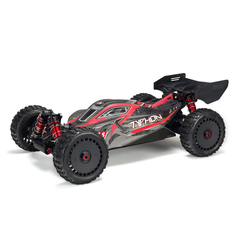 1/8 TYPHON 6S BLX 4WD Brushless Buggy with Spektrum RTR, Red/Grey picture