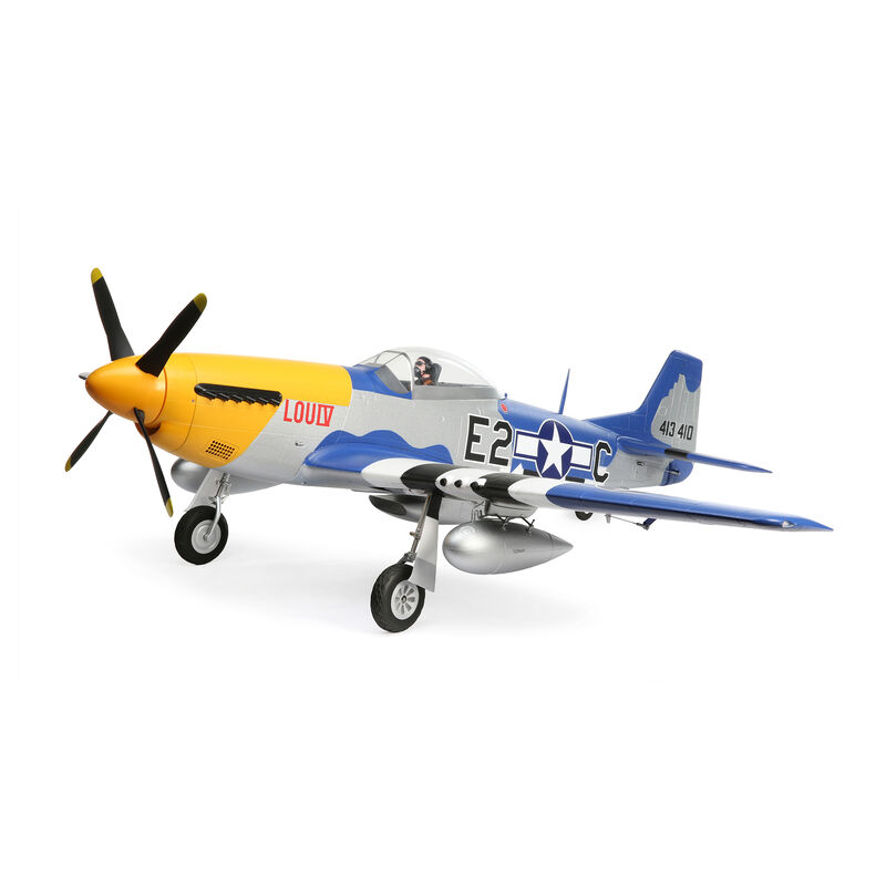 P-51D Mustang 1.5m BNF Basic Combo picture